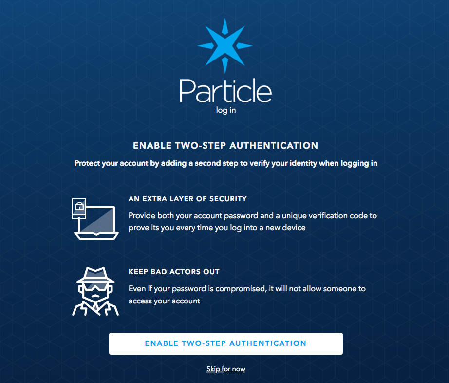 Announcing New Device Cloud Features: Two-Step Authentication